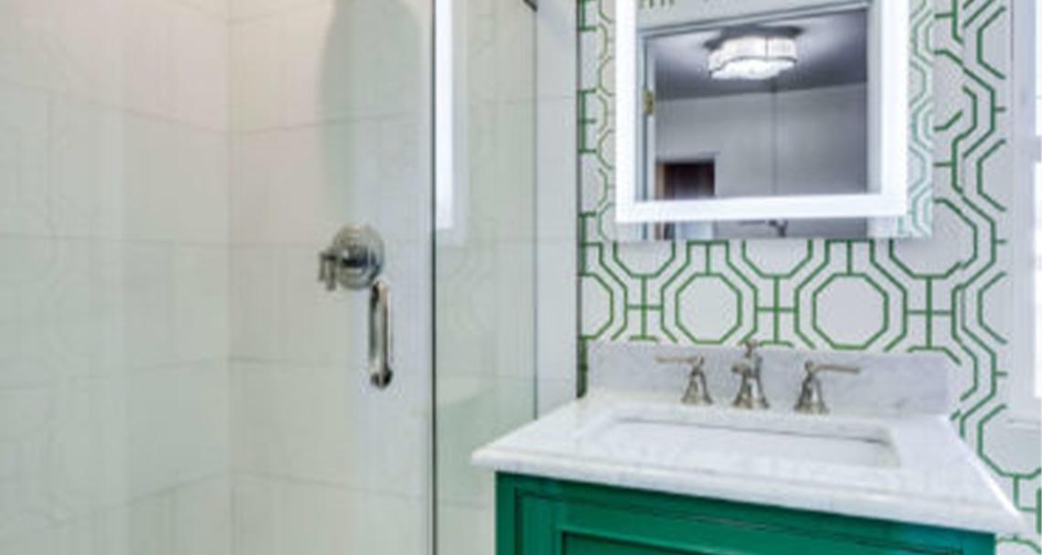 bathroom remodel in McLean, VA